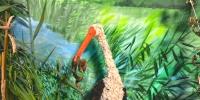 Az állatok gyapjúból és bakszityából készültek
