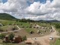 A táj eredetiben drónnal fotózva