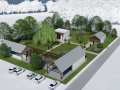 épületkomplexum funkcionális átalakítása