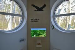 A kontrollerrel mozgatható repülés játékosan mutatja be a Mátra értékeit. A virtuális infó pontokon, több tucat videó és infókártya mélyíti el a tudást.