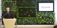 Zöldfal a zöld energiához