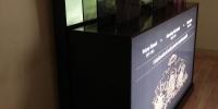 Világító doboz, rétegzett grafika